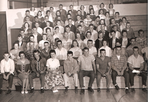 Half of our class taken June 59'