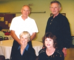 Bill Gant, Ray Johnson, Claudia Hart, Kay Simmons