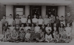 Mr Jones: 5th Grade   Back row: Dick Denson, Jose, Ken Shockley, Juanita Gamboa, Lynda Thomas,  Movita Bloomfield, Jerry
